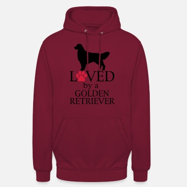 Golden Retriever Loved Golden Retriever - Hoodie unisex