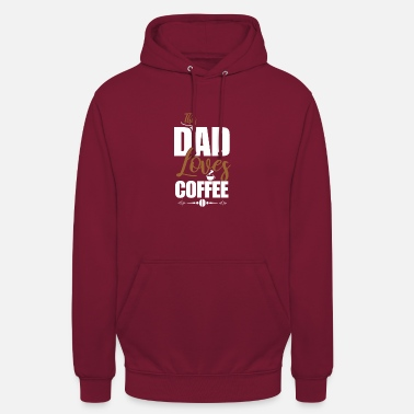 Dad Loves Coffee This dad loves coffee - Unisex Hoodie