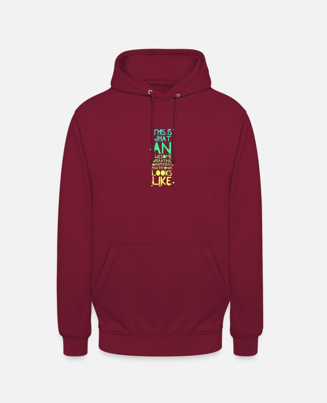 Operating Department Practice Hoodies & Sweatshirts - Awesome ODP - Unisex Hoodie bordeaux