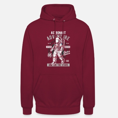 Space Astronaut adventure space-raket - Unisex hoodie