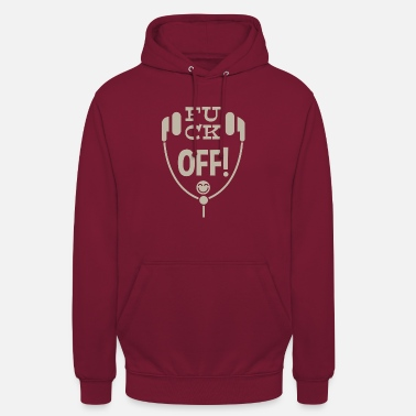 Leible Fuck off! - Leibl Designs - Unisex Hoodie