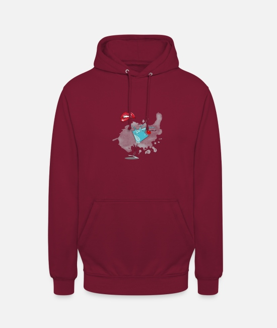 Sale Hoodies & Sweatshirts - Coctail shop - Unisex Hoodie bordeaux