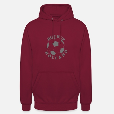 Amsterdam Logo Design Hup Hup Holland Football Design-logo - Unisex hoodie
