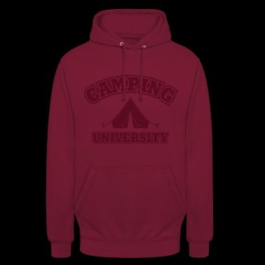 université de camping - Sweat-shirt à capuche unisexe