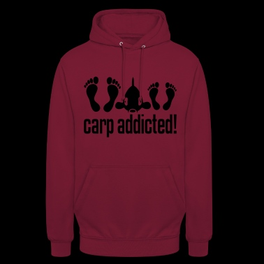 CARP ADDICTED! - Sweat-shirt à capuche unisexe