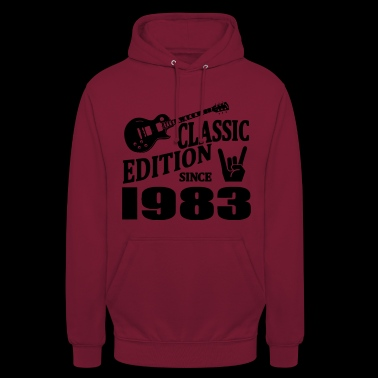 Classic edition since 1983 - Unisex Hoodie