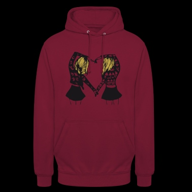 Queen - Queen - Partnerlook - BFF - BGF - Gift - Unisex Hoodie