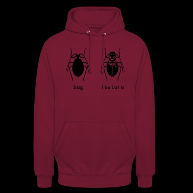 Bug or feature - Unisex Hoodie