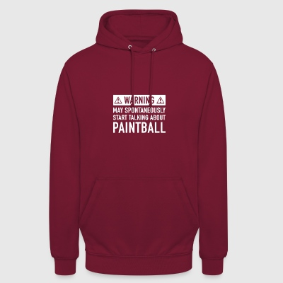 Funny Paintball Gift Ideas - Unisex Hoodie
