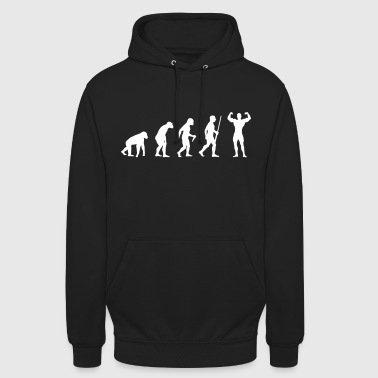 Body Building Evolution - Unisex Hoodie