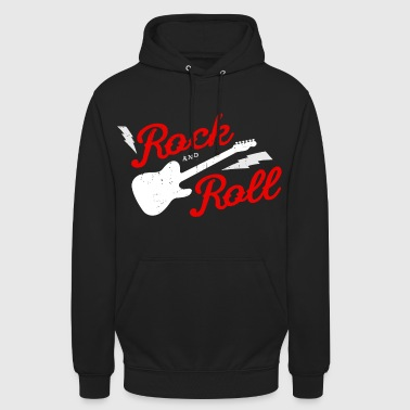 ROCK AND ROLL - Sudadera con capucha unisex