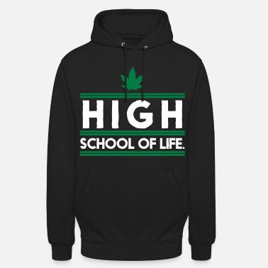 Drogue Highschool of Life. - Sweat-shirt à capuche unisexe