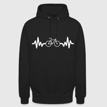 bike is life - cyclisme - vélo - Sweat-shirt à capuche unisexe