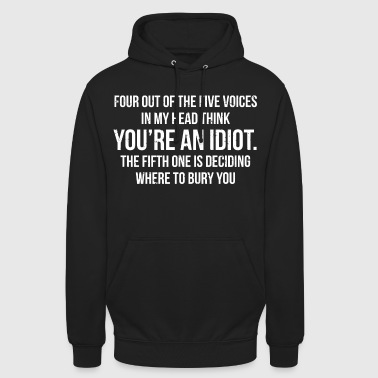 Humour Funny Sarcastic Quote Humour Gift T-shirt - Unisex Hoodie