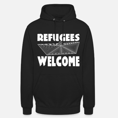 Welcome Refugees Welcome - Unisex Hoodie