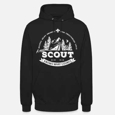 Pfadfinder A real scout knows what counts - Unisex Hoodie