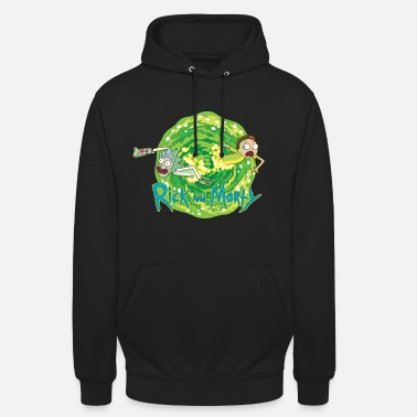 Morty Rick And Morty Multidimensional Travel - Unisex hoodie