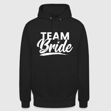 Team Bride - Hen Party JGA Bride Alk - Hoodie unisex