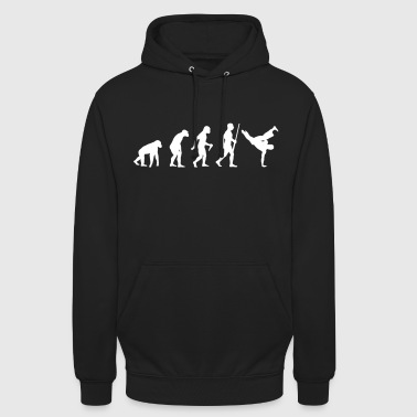 Breakdancer Evolution - Sweat-shirt à capuche unisexe