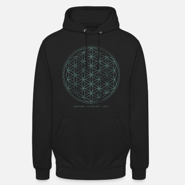 Flower Of Life Flower of Life - Origin Creation Life - Hoodie unisex