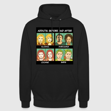 Bird addicts meme - Unisex Hoodie