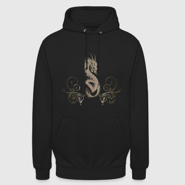 Awesome chinese dragon - Unisex Hoodie