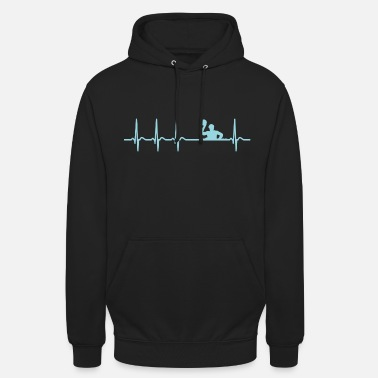 Waterpolo Heartbeat Waterpolo Club Team Club funny Cool - Unisex Hoodie