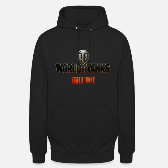 World Of Tanks Bluzy - World of Tanks Men Hoodie - Bluza z kapturem unisex czarny