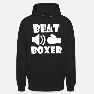 Box Beat boxer - Sweat-shirt à capuche unisexe
