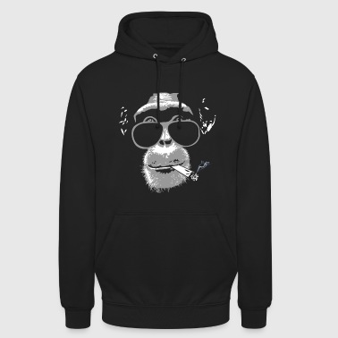 Monkey Chimpanzee with joint   - Unisex Hoodie