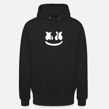 Smiley with marshmallow eyes - Unisex Hoodie
