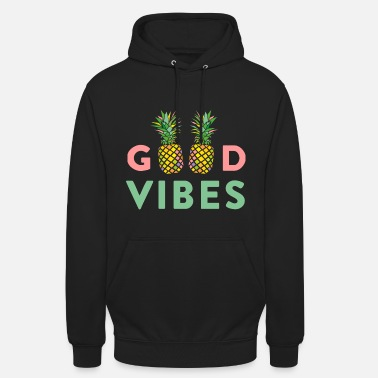 AD GOOD VIBES PINEAPPLE - Sweat-shirt à capuche unisexe