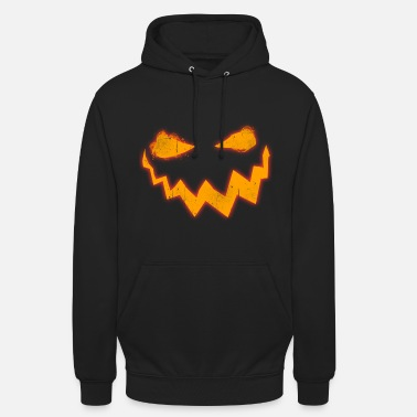 Halloween Creepy Halloween pumpkin mask face - Unisex Hoodie