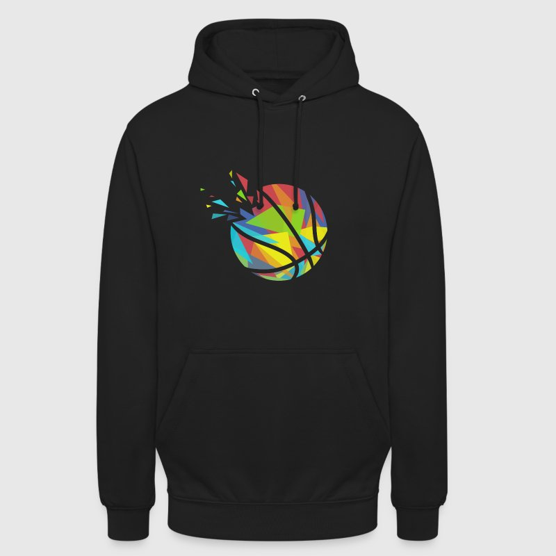 Color Triangle Basketball - Unisex Hoodie