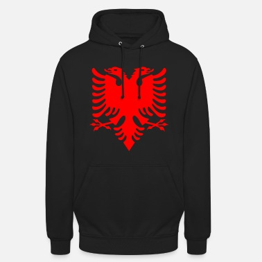 Double Head red double-headed eagle Albanian Double Eagle - Unisex Hoodie