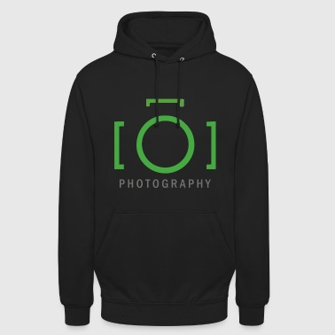photographe - Sweat-shirt à capuche unisexe