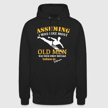 Tae Kwon Do Veteraan Male - Hoodie unisex
