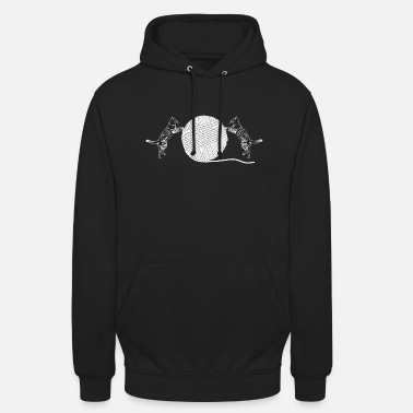 Wool Cats and wool - Unisex Hoodie