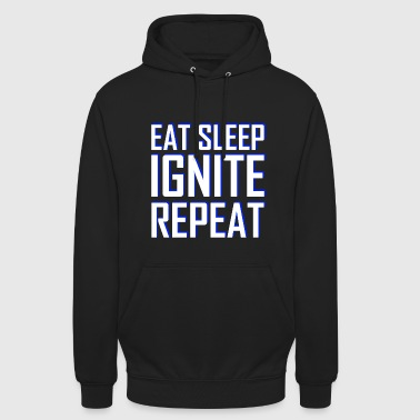 Walker SPISE SLEEP IGNITE REPEAT - Unisex-hettegenser
