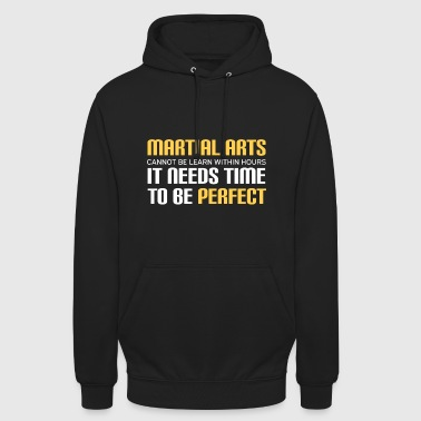 Martial Arts MMA fight fighter UFC karate dan kick n - Unisex Hoodie