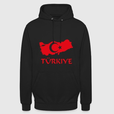 Türkiye turkey turkish home country - Unisex Hoodie