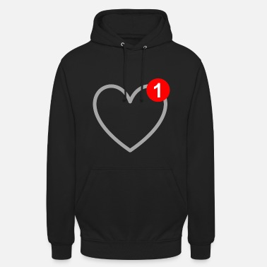 Sm The love - message - SMS - in love - Unisex Hoodie