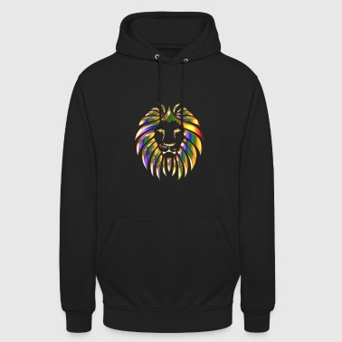 Colurful lion africa - Unisex Hoodie