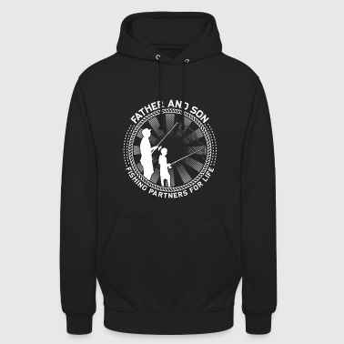Fishing! Fishing! funny! Father and son! - Unisex Hoodie