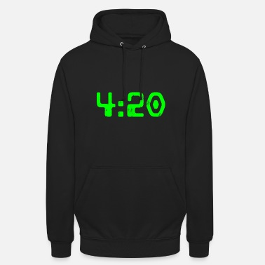 04h20 - Sweat-shirt à capuche unisexe