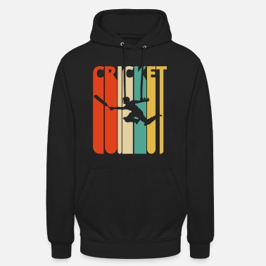 Cricket Awesome 70's Vintage Retro Cricket Gifts. SALE - Unisex Hoodie