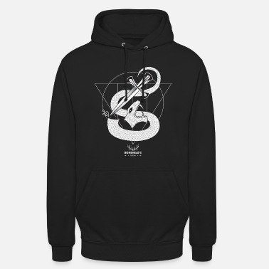 Serpent TÊTE DE SERPENT - Sweat-shirt à capuche unisexe