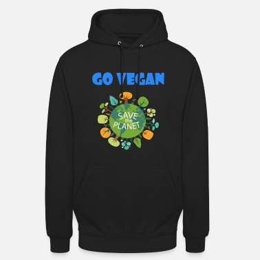 "Save The Planet Go Vegan Save the Planet - Huppari ""unisex"""