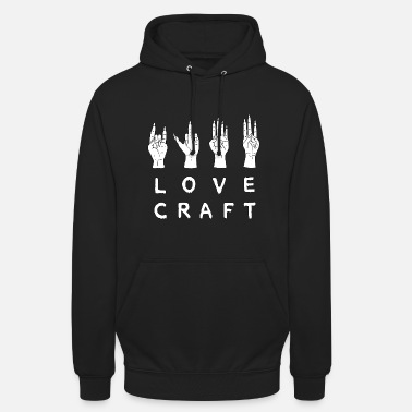 Occult HP Lovecraft's The Signs of Power - Unisex Hoodie