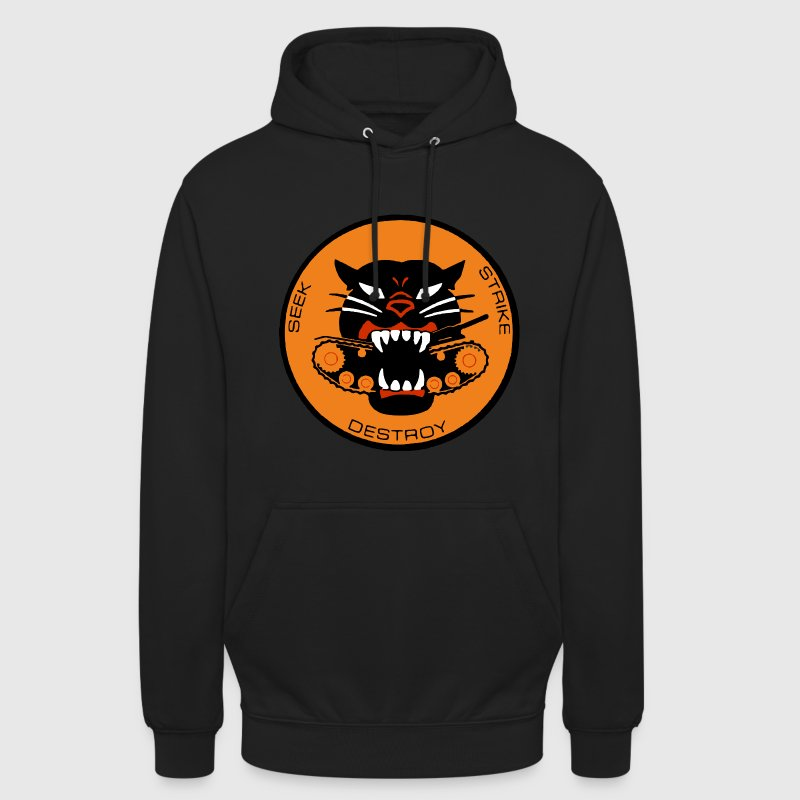 Black Panther Tank Destroyer WWII - Unisex Hoodie